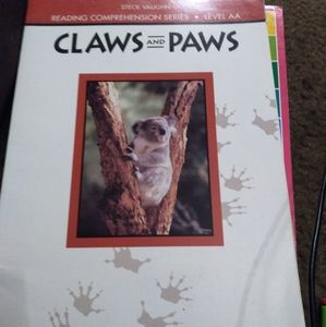 Reading Comp Series Level AA Claws and Paws